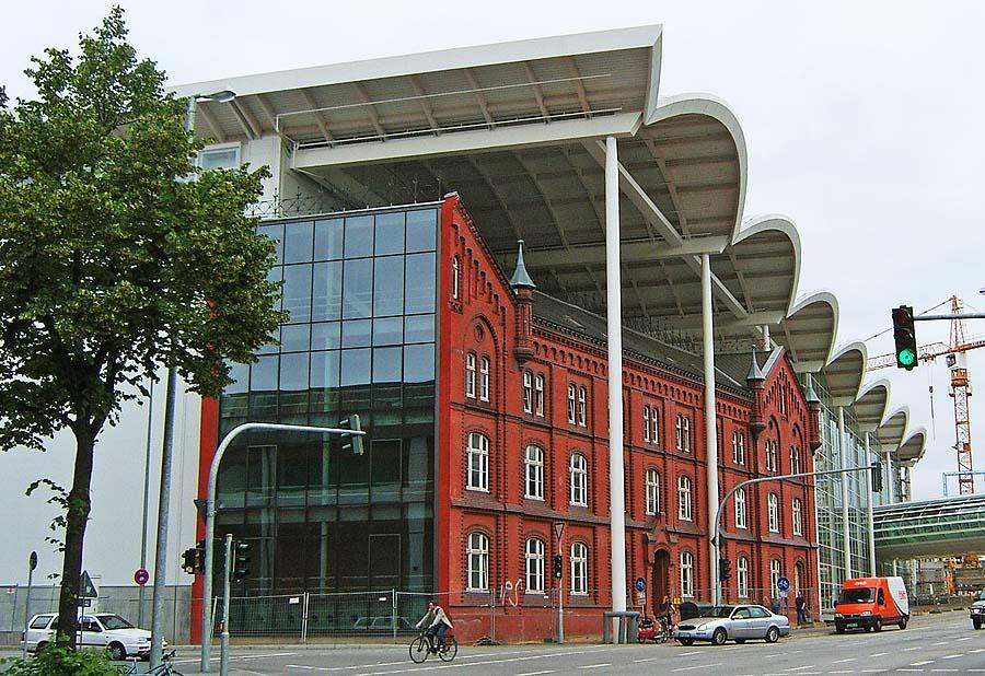 Messehallen Hamburg Kleiderkammer