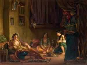 Les Femmes d'Alger, Delacroix