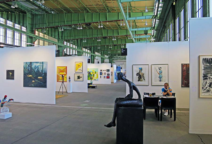 Positions Art Fair Berlin, Tempelhof, Photo: Holger Jacobs