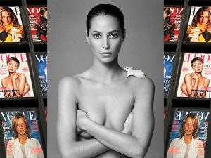 Modephotographie 90er Jahre - Christy Turlington - Patrick Demarcheler -